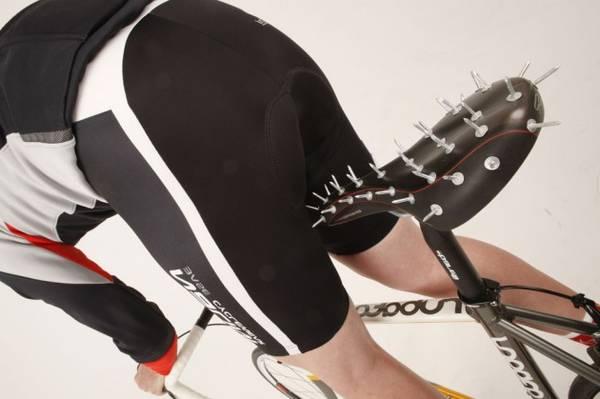 eliminating numb bicycle saddle
