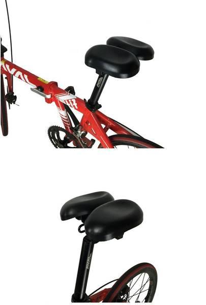 triple endurance on trainer saddle