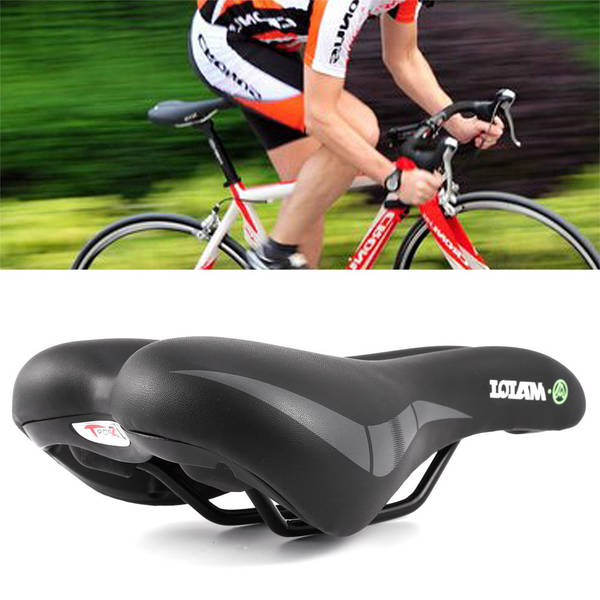 suppress discomfort bicycle seat